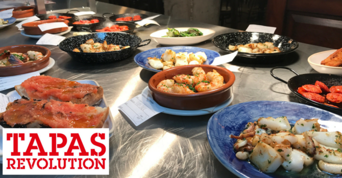 Tapas Revolution Newcastle Review