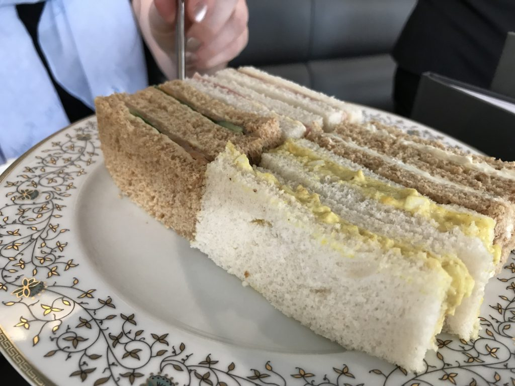 afternoon tea lakes distillery sandwiches