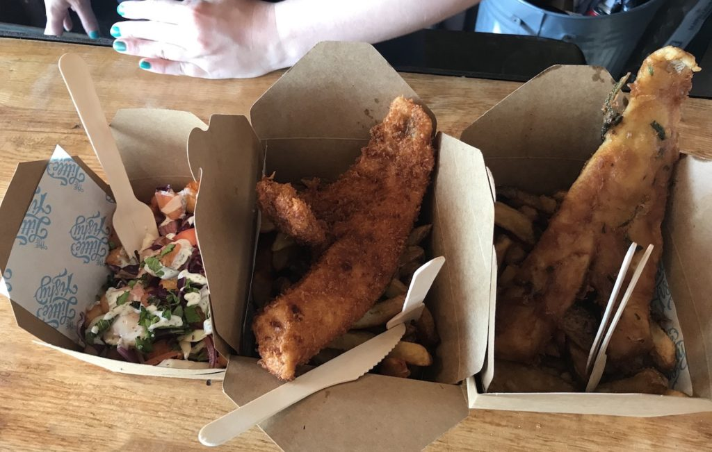 the little fishy fish chips