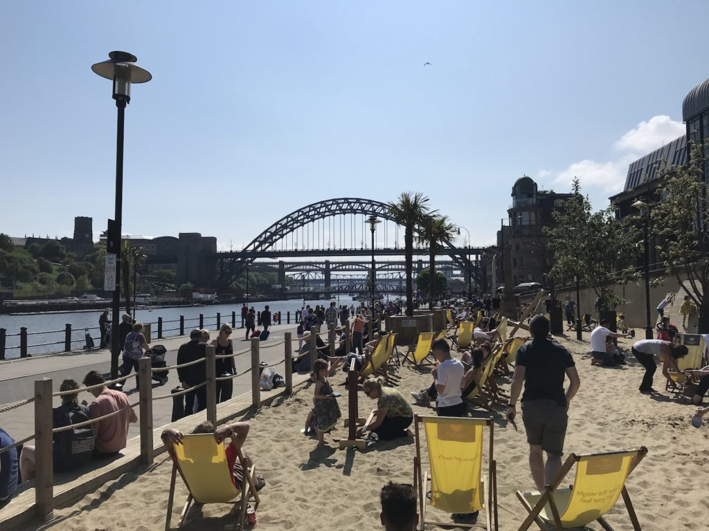 the little fishy quayside view