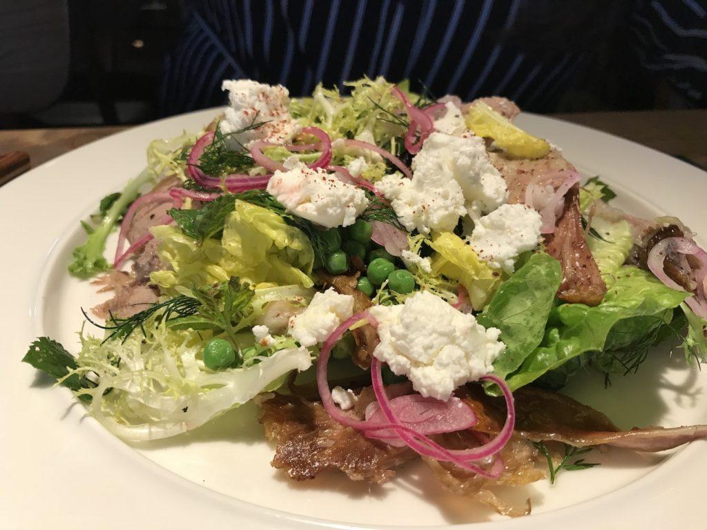 trakol asado lamb salad