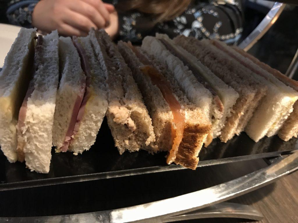afternoon tea hudson newcastle sandwiches
