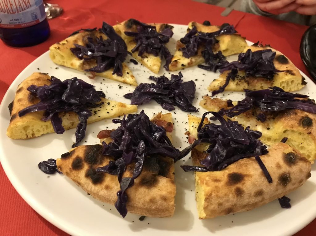 pizzeria italia benton cabbage