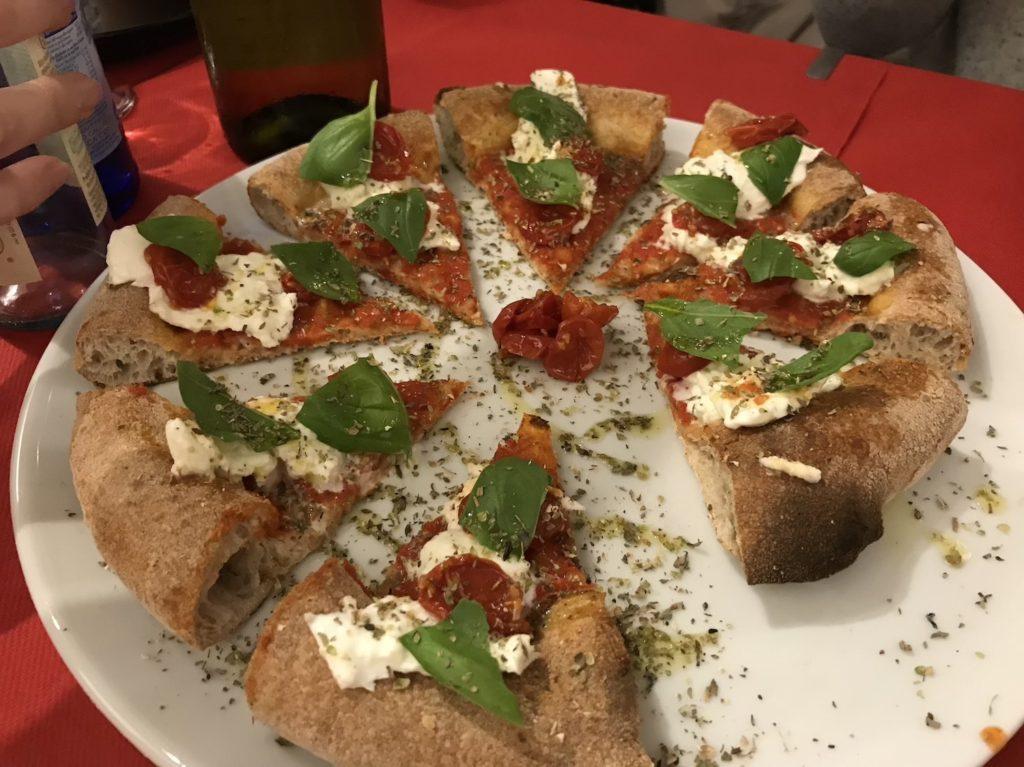 pizzeria italia benton margherita