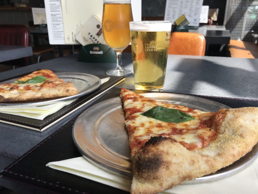 newcastle tap pizza beers