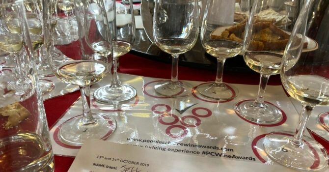 Judging At The People's Choice Wine Awards